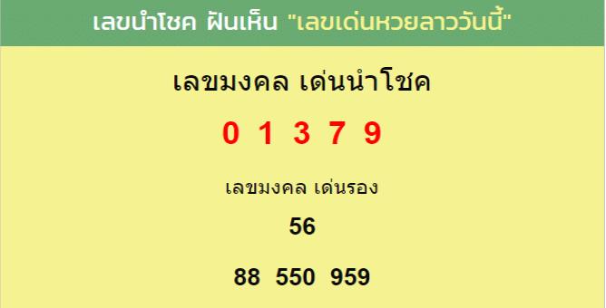 เลขเด็ดบนเว็บไซร์ mthai.com